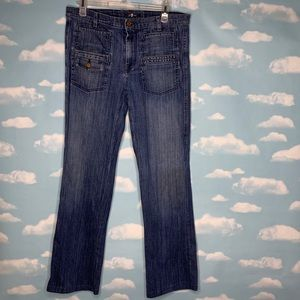 7 For All Mankind- Medium Wash Bootcut Jeans sz31